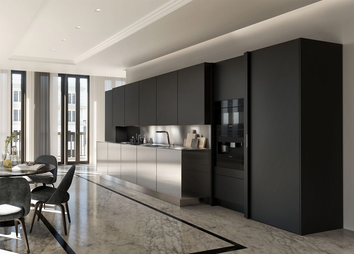 SieMatic Pure Collection Steel Graphitegrey